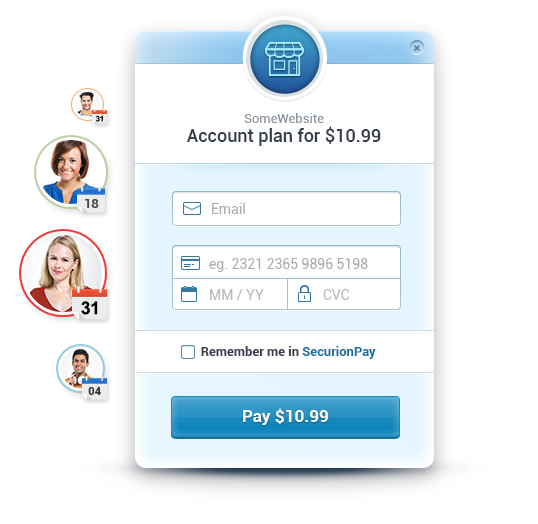Recurring payments - SecurionPay