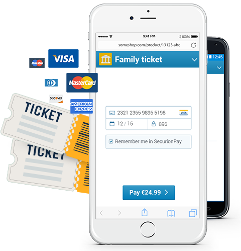 Mobile payments for travel, tickets and booking