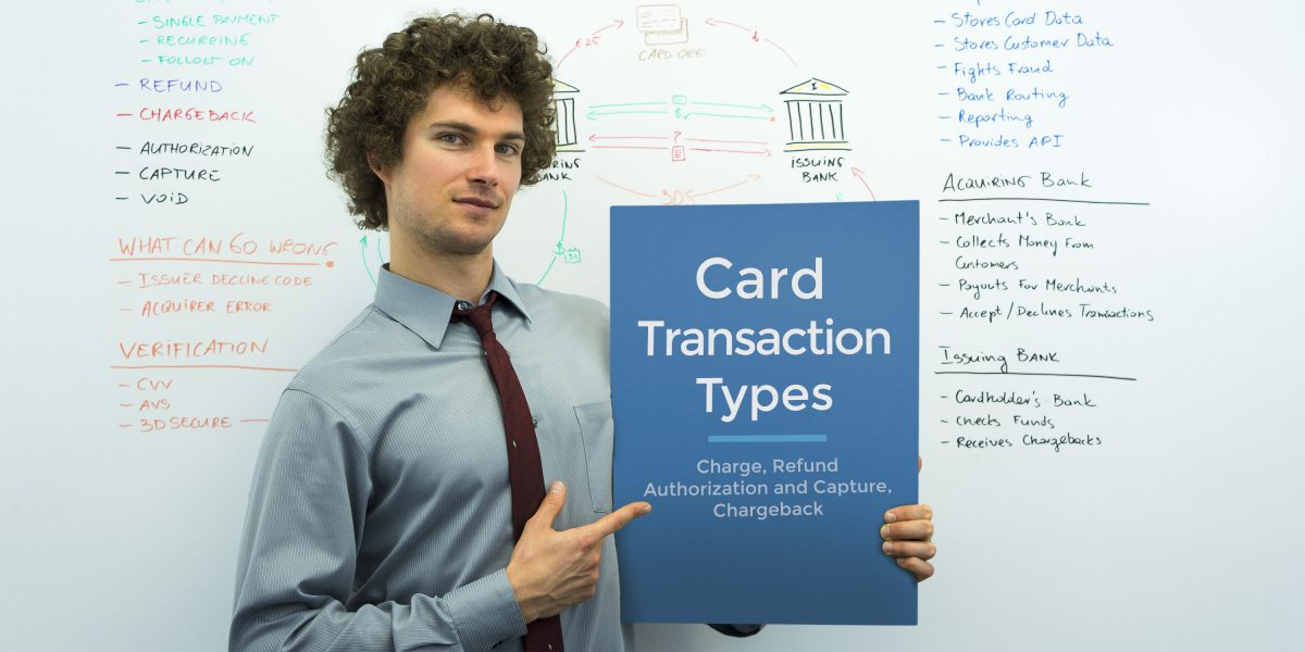 card transaction types