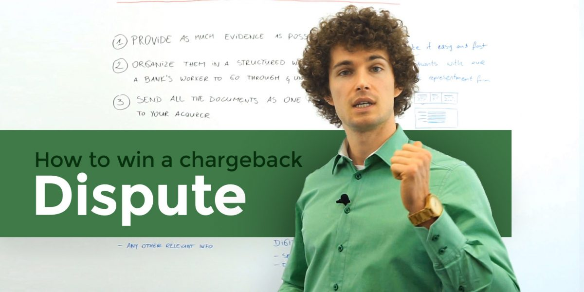 securionpay academy - how to win a chargeback dispute