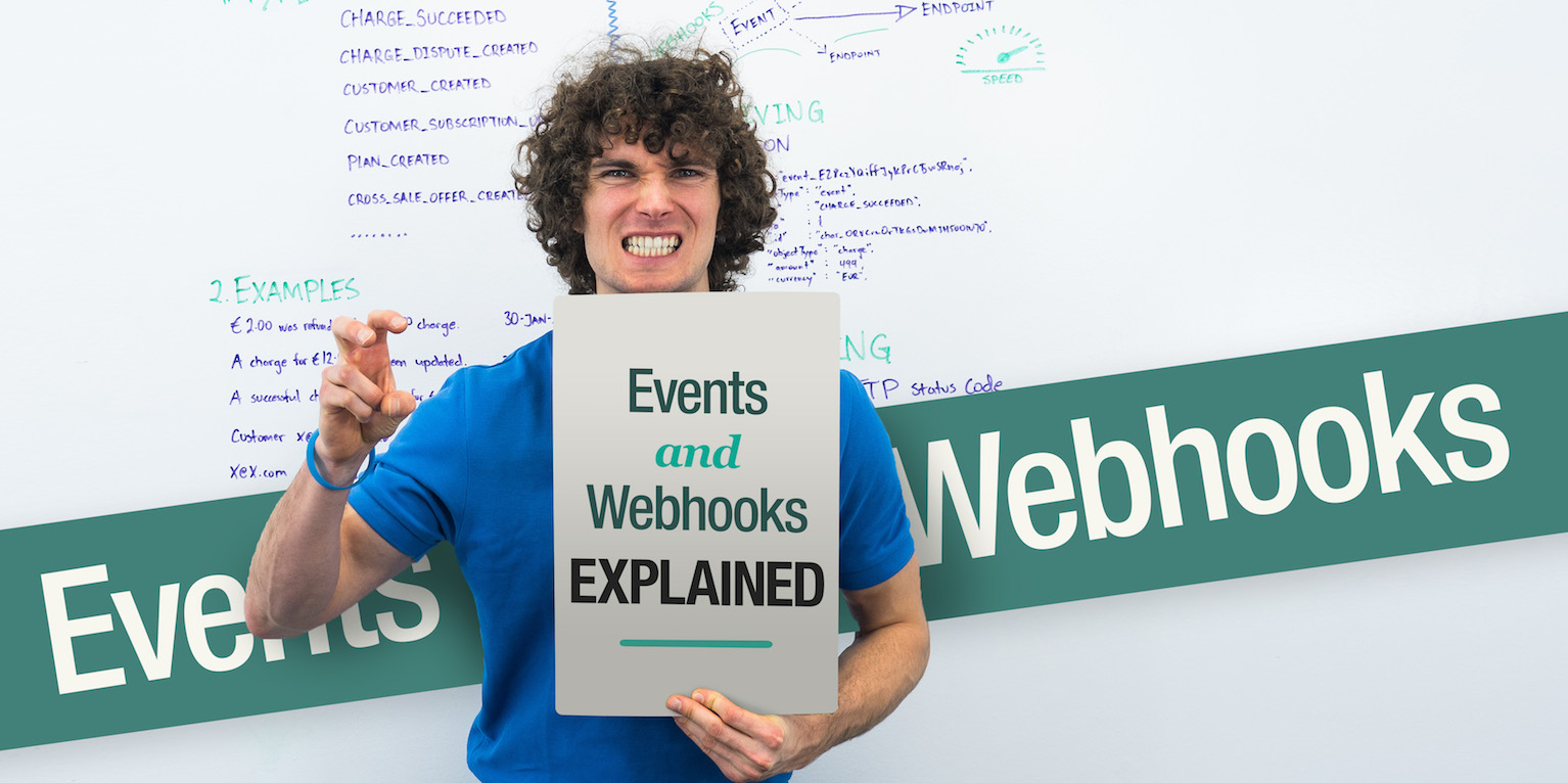 Events and Webhooks, payment API