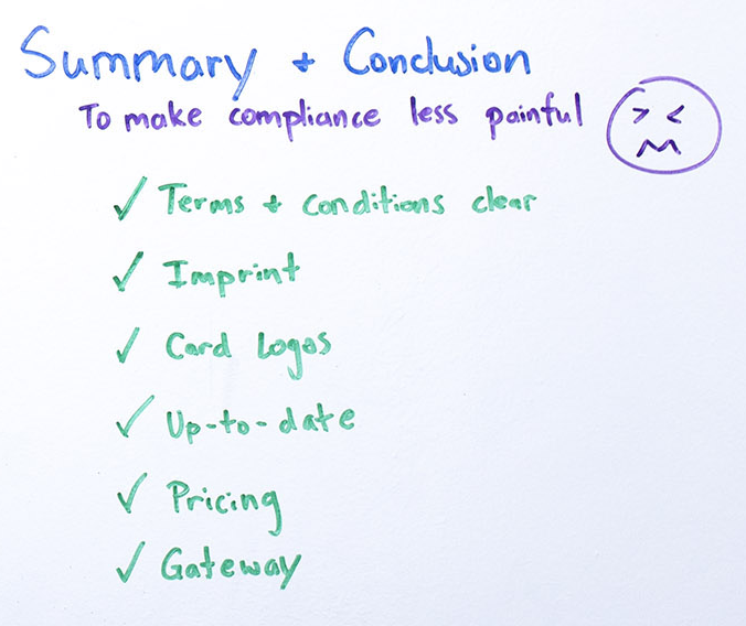 Steps for a smooth compliance process