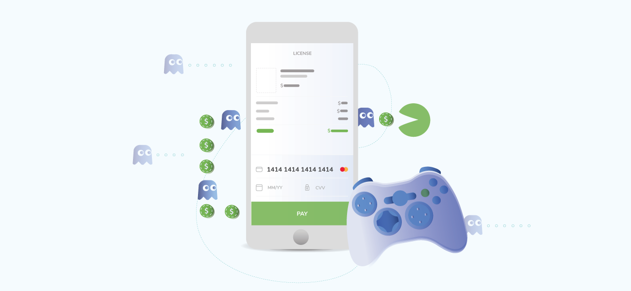 Payments for gaming industry